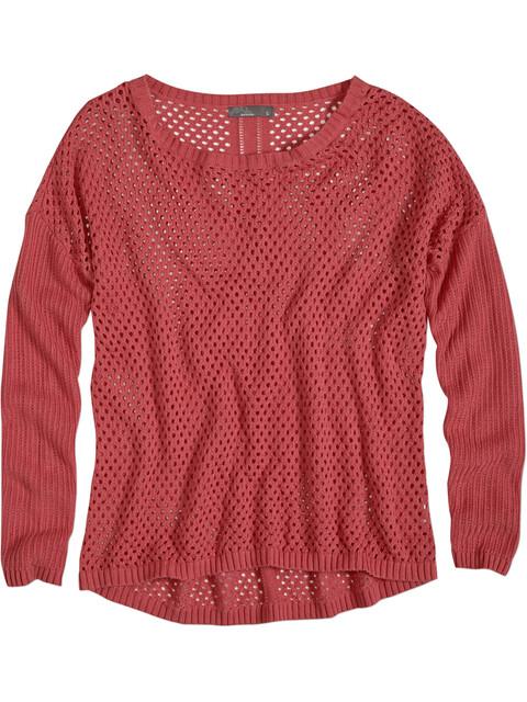 Prana W's Parker Sweater Red Slate